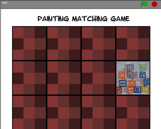 Painting Matching Game