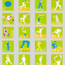 A Cricket Alphabet- An Alphabet Poster
