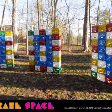 Crate Space: Milk Crate Installation
