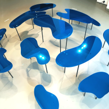 Water Tables: Art Directors Club installation