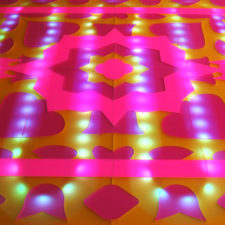 Digital Dhurrie: An Illuminated Indian Rug